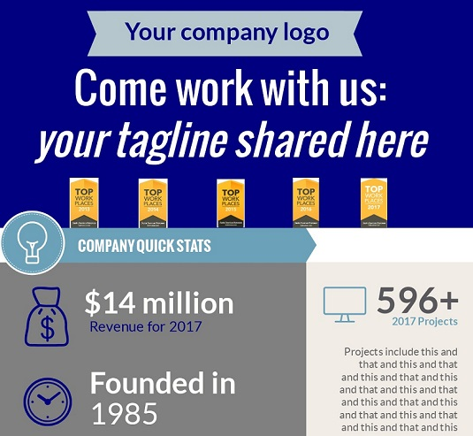 Get Design Help for Your Company's Recruiting Info-graphics