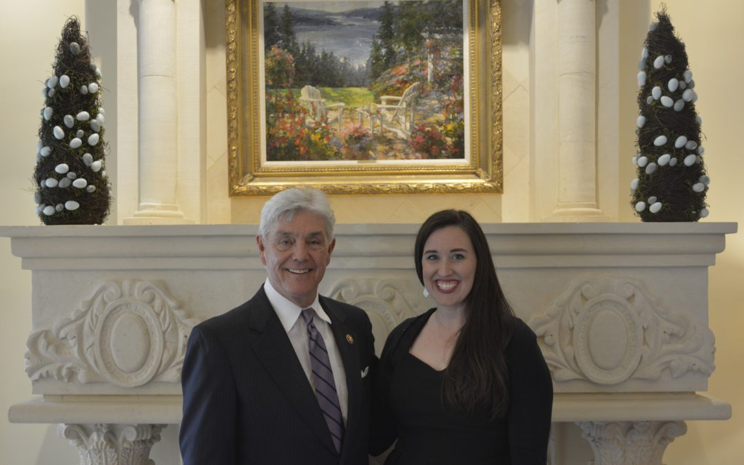 Lauren Day with Congressman Roger Williams